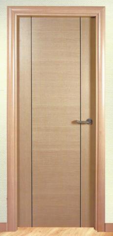 puerta interior melamina haya